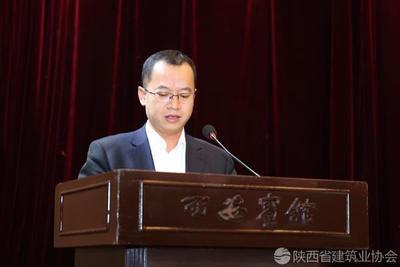 中建八局西北公司总工程师陈俊杰进行经验交流
