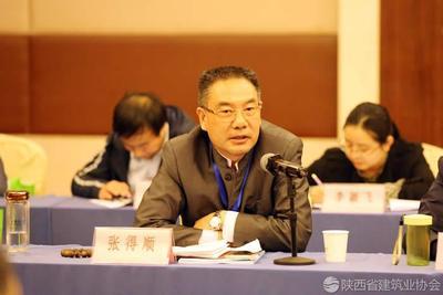汉中市建筑业九州彩票办公室主任兼副秘书长 张得顺
