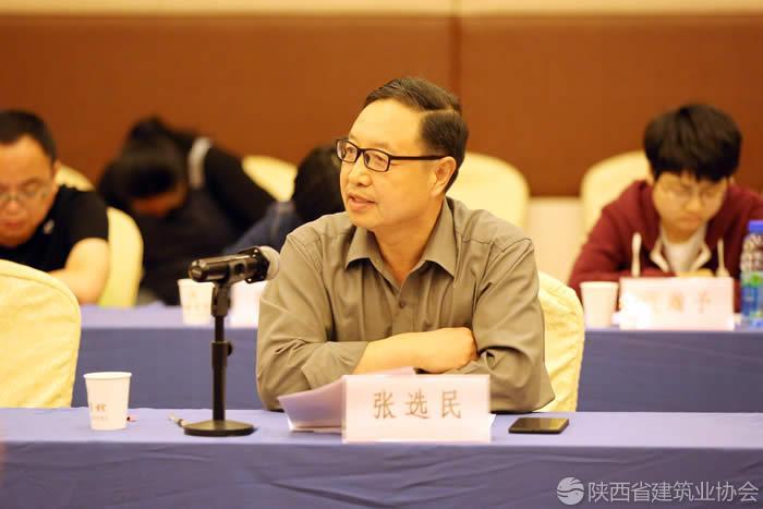 榆林市建筑业九州彩票副会长兼秘书长张选民发表讲话.jpg