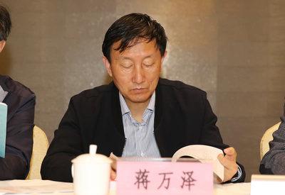 省体育竞猜投注网副会长 蒋万泽