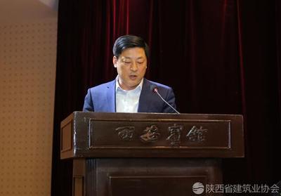 中建七局四公司董事长李俊杰进行经验交流