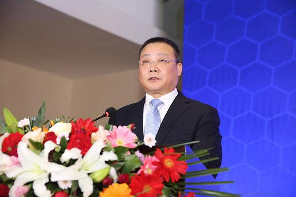 中建八局西北分公司党委书记、董事长段辉乐致辞